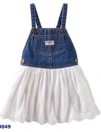 Đầm yếm jean Oskosh