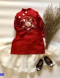 Áo dài + váy voan