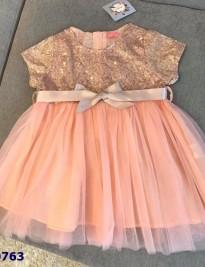 Đầm tiệc kim sa hàng Image Kids