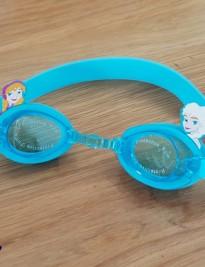 Kính bơi Disney xanh elsa