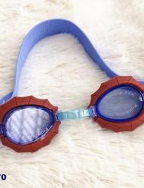 Kính bơi Disney xanh viền nhện