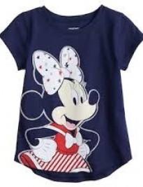 Áo Disney xanh đen in Mickey