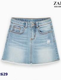 Chân váy jean Zara
