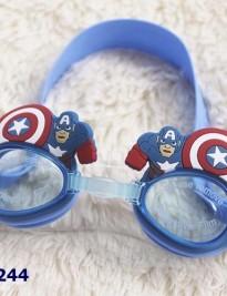 Kính bơi Disney xanh superman