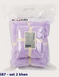 Set 2 khăn tắm Suldou