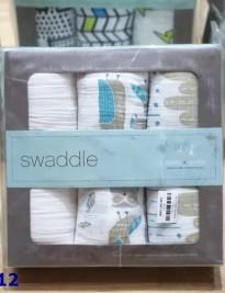 Set 3 khăn Swaddle