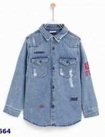 Áo jean Zara