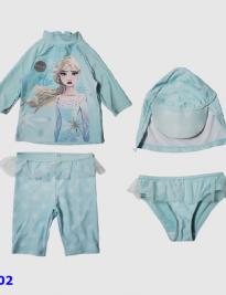 Set áo, quần + nón bơi