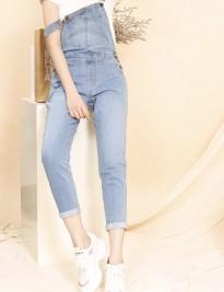 Yếm jean dài Premium Demin