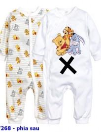 Sleepsuit thun H&M (phía sau)