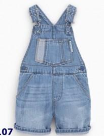 Quần yếm jean Zara