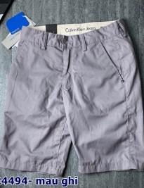 Short kaki Calvin Klein Jean màu ghi