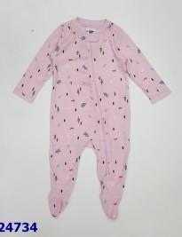 sleep suit bé gái liền vớ