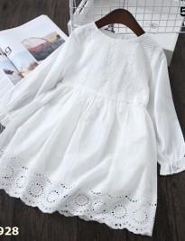 Đầm trắng Simiplly
