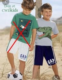 Bộ short GapKids