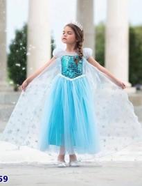 Đầm ElSA xanh