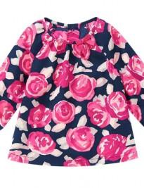 Áo váy vải Gymboree