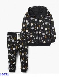 Set áo khoác + quần da cá Gymboree
