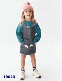Yếm jean Zara