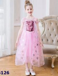 Đầm ElSA hồng