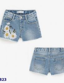 Quần short jean Zara