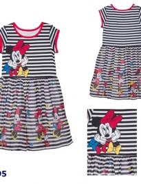 Đầm thun phối chân váy voan Disney