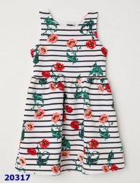 Đầm thun gân H&M