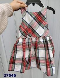 Đầm Polo caro