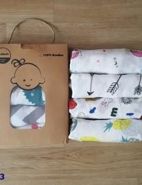 Set 4 khăn MilkBarn